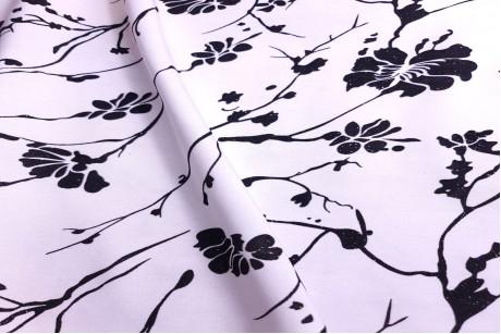 Тафта принт флок Magnolia