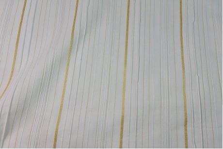 Коттон стрейч Striped-Tallow
