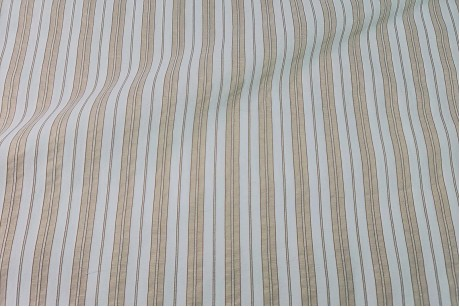 Коттон стрейч Striped-Gold