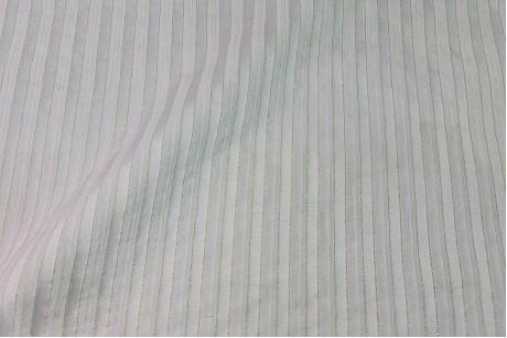 Коттон стрейч Striped-White
