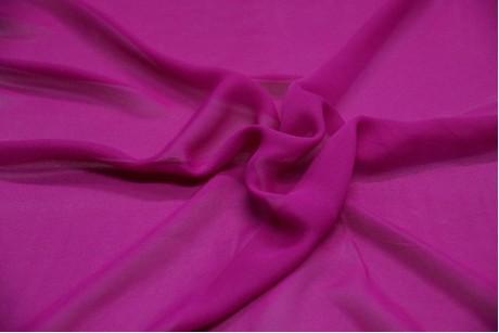 Шифон однотонный Palatinate-Purple