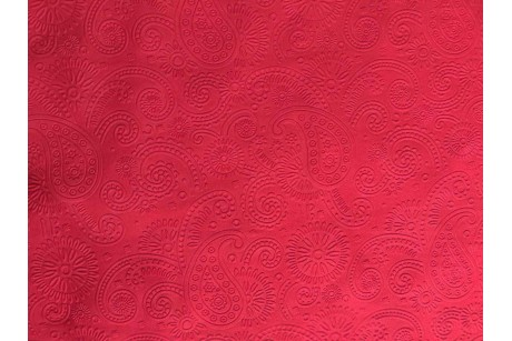 Шифон однотонный Brick-Red