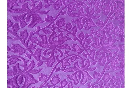 Шифон принт Deep-Lilac